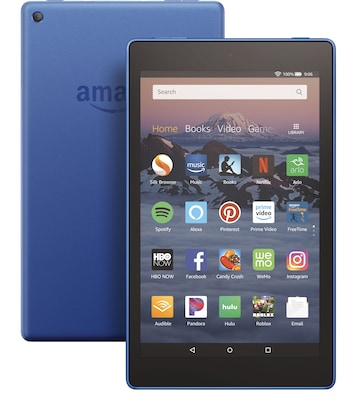 "Amazon Fire HD 8 Tablet, 8"" Display, 16 GB, Blue (B0794Y5P5C)"