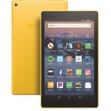 Amazon Fire HD 8 Tablet, WiFi, 16GB (Fire OS), Canary Yellow (B07952VWF2)