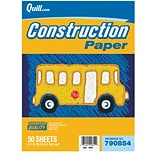 Quill Brand® 9x12 Orange Construction Paper