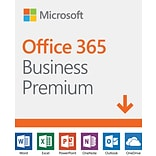 Microsoft Office 365 Business Premium 1 Year Subscription for 1 User, Windows/Mac, Download (KLQ-002