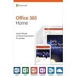 Microsoft Office 365 Home, English, Product Key-Card (6GQ-01028)