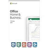 2019 Microsoft Office Home and Business, 1 Device, Windows 10 PC/Mac [Product Key Card]