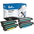 Quill Brand® Remanufactured HP 507A Black/Cyan/Yellow/Magenta Standard Laser Toner Cartridge (4 Pack