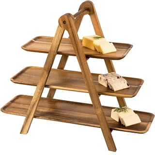 Wood Serving Ladder with $525 order