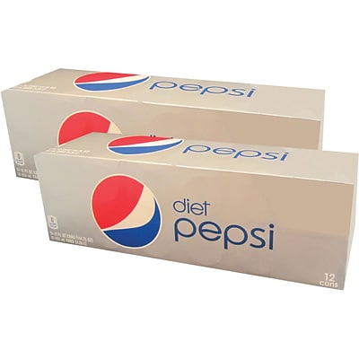 Diet Pepsi Cola, 12 oz., 24/Carton (83775)