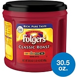Folgers Classic Roast Ground Coffee, Medium Roast (SMU02042)