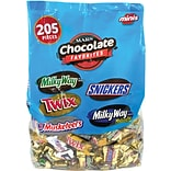 Mars Mix Mini Chocolate Bars, 62.60 Oz, 205-Piece Bag  (220-00016)