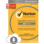 Norton Security Premium 10 Devices (1 User) [Download]