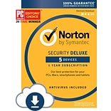 Norton Security Deluxe, 5 Devices (1 User) [Download]