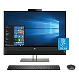 HP Pavilion 27-xa0050 All-in-One Desktop, Intel i5-8400T, 2 TB Hard Drive, 8GB RAM + 16 GB Intel Opt