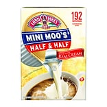 Land OLakes Mini-Moos Half and Half Liquid Creamer, 0.28 Fl. Oz., 192/Carton (100718)