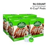 Green Mountain Caramel Vanilla Cream Coffee, Keurig® K-Cup® Pods, Light Roast, 96/Carton (GMT6700CT)