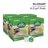 Green Mountain French Vanilla Coffee, Keurig® K-Cup® Pods, Light Roast, 96/Carton (6732)
