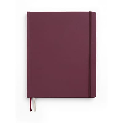 TRU RED™ Large Hard Cover Ruled Journal, Purple (TR55730)