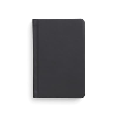 TRU RED™ Small Hard Cover Ruled Journal, Black (TR54770)