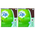 Puffs® Plus Lotion Boutique Facial Tissue, 2-Ply, 56 Sheets/Box, 4 Boxes/Pack, 2 Packs, 8 Total Boxes (34899QPK)