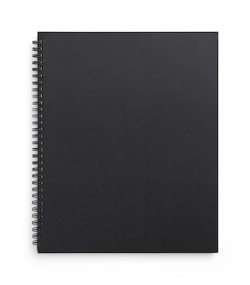 TRU RED™ Large Soft Cover Project Planner Notebook, Black (TR54986)
