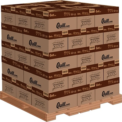 Quill Brand® 8.5 x 11 Premium Multipurpose Paper by the Pallet, 20 lbs., 97 Brightness, 1-5 Pallets (X81120)
