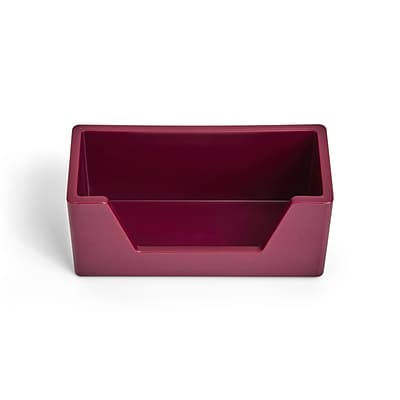 TRU RED™ Business Card Holder, Purple (TR55272)