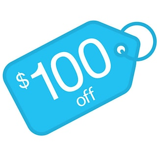 $100 off with $1000 order
