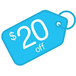 $20 off with $199 order