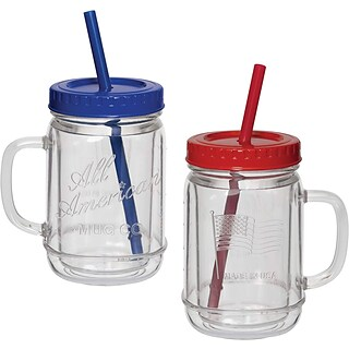 2-pc Mason Jar Mug Set with $125 order