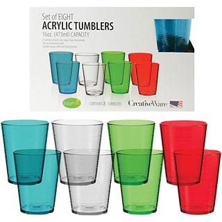 8pc Tumbler Set w $175 ink & toner