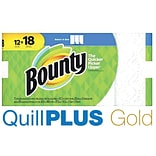 QuillPLUS Bounty® Select-A-Size™ Paper Towels, 12 Giant Rolls