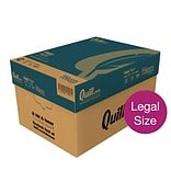 Quill Brand® Legal Copy Paper, 8-1/2 x 14, 92 Bright, 20 lb., 10 Reams of 500 Sheets (720223)