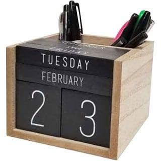 Calendar & Pen Holder with $99 order