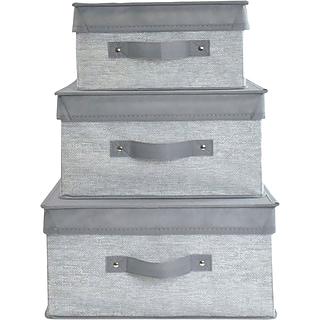 3-pc Storage Bin Set w $175 ink & toner