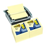 Buy 1 pack of Canary Yellow Post-it® Pop-up Notes, 3 x 3, get 1 Post-it® Dispenser FREE