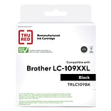 TRU RED™ Brother (LC109BK) Black Remanufactured Extra High Yield Ink Cartridge