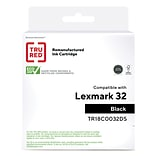 TRU RED™ Remanufactured Black Standard Yield Ink Cartridge Replacement for Lexmark (32)