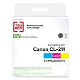 TRU RED™ Remanufactured Tri-Color Standard Yield Ink Cartridge Replacement for Canon CL-211 (2976B00