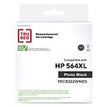 TRU RED™ Remanufactured Photo Black High Yield Ink Cartridge Replacement for HP 564XL (CB322WN)