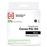 TRU RED™ Remanufactured Black High Yield Ink Cartridge Replacement for Canon PG-50 (0616B002)