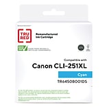 TRU RED™ Remanufactured Cyan High Yield Ink Cartridge Replacement for Canon CLI-251XL (6449B001)