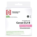 TRU RED™ Remanufactured Magenta Standard Yield Ink Cartridge Replacement for Canon CLI-8PM (0625B002
