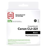 TRU RED™ Canon CLI-221BK (2946B001) Black Remanufactured Standard Yield Ink Cartridge
