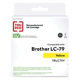 TRU RED? Brother (LC79Y) Yellow Remanufactured Extra High Yield Ink Cartridge
