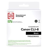 TRU RED™ Remanufactured Black Standard Yield Ink Cartridge Replacement for Canon CLI-8BK (0620B002)