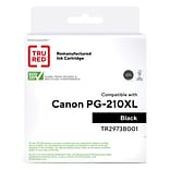 TRU RED™ Remanufactured Black High Yield Ink Cartridge Replacement for Canon PG-210 XL (2973B001)