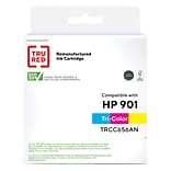 TRU RED™ Remanufactured Tri-Color Standard Yield Ink Cartridge Replacement for HP 901 (CC656AN)