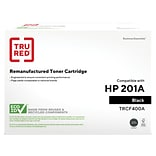TRU RED™ HP 201A (CF400A) Black Remanufactured Standard Yield Toner Cartridge