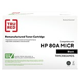 TRU RED™ Remanufactured Black Standard Yield MICR Toner Cartridge Replacement for HP 80A (CF280A)
