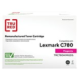 TRU RED™ Remanufactured Magenta High Yield Toner Cartridge Replacement for Lexmark (C780H1MG)