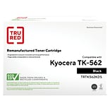 TRU RED™ Kyocera (TK-562K) Black Remanufactured Standard Yield Toner Cartridge