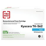 TRU RED™ Kyocera (TK-562C) Cyan Remanufactured Standard Yield Toner Cartridge