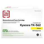 TRU RED™ Kyocera (TK-562Y) Yellow Remanufactured Standard Yield Toner Cartridge